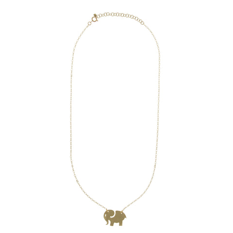 Ella Brass Necklace