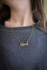 Beloved Brass Necklace