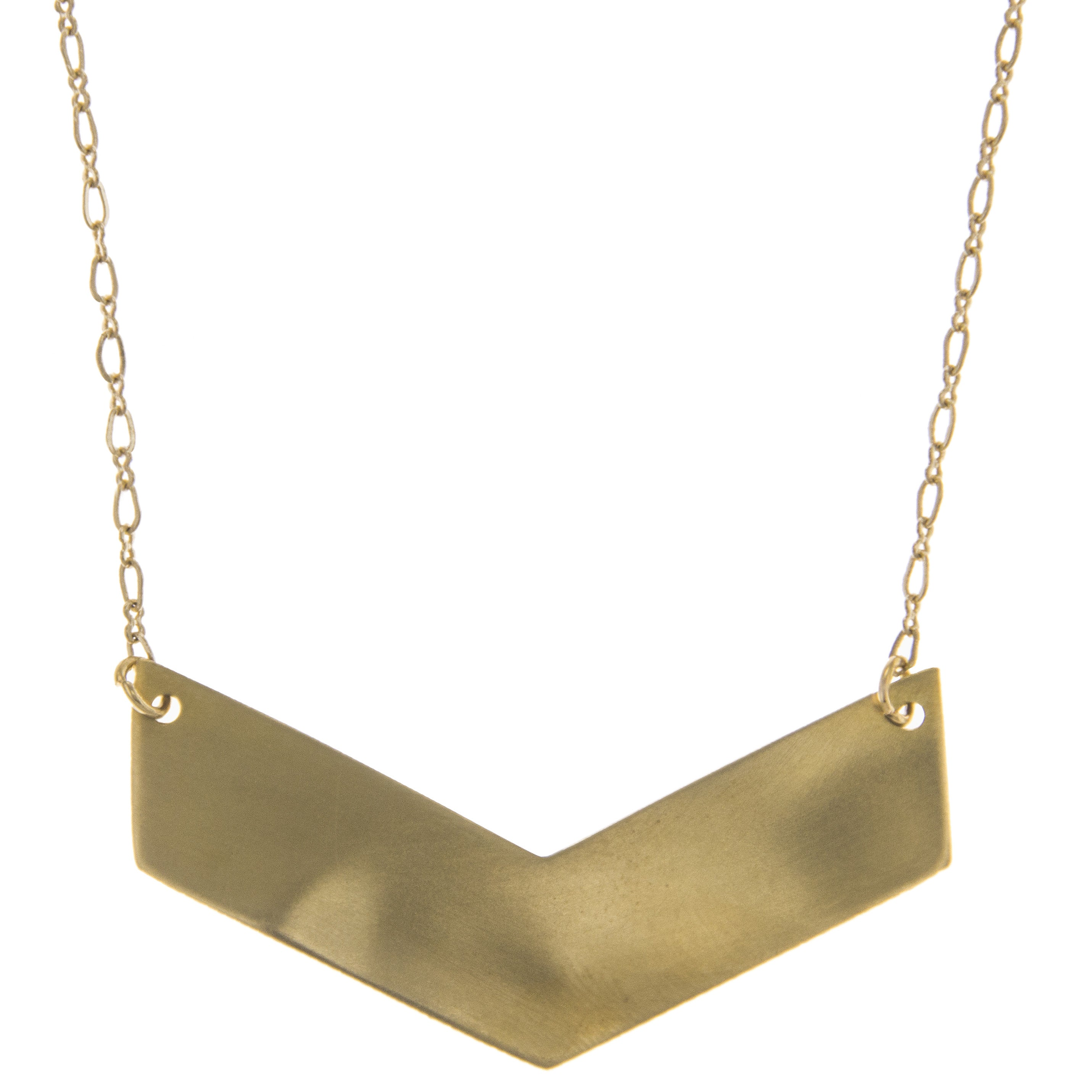 necklace stud multi a brass moti