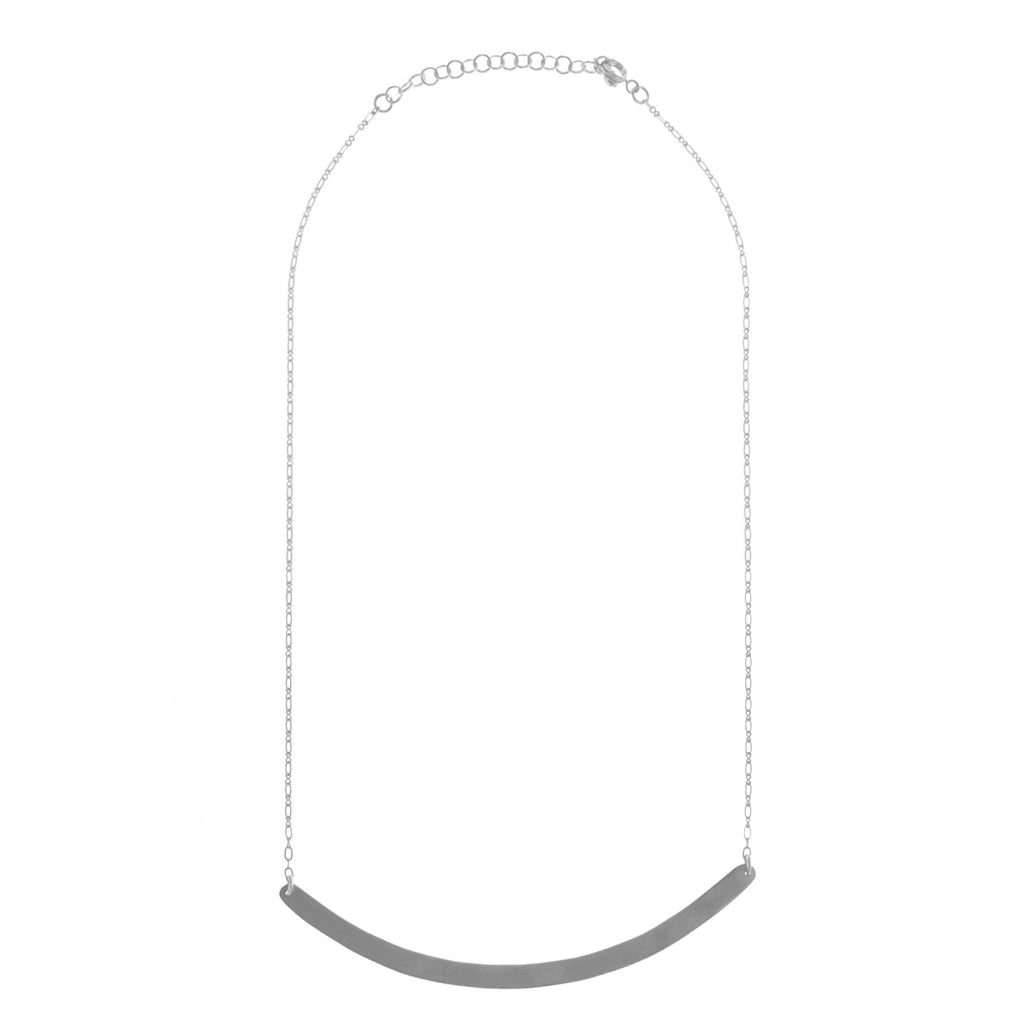 Pursuit Silver Necklace