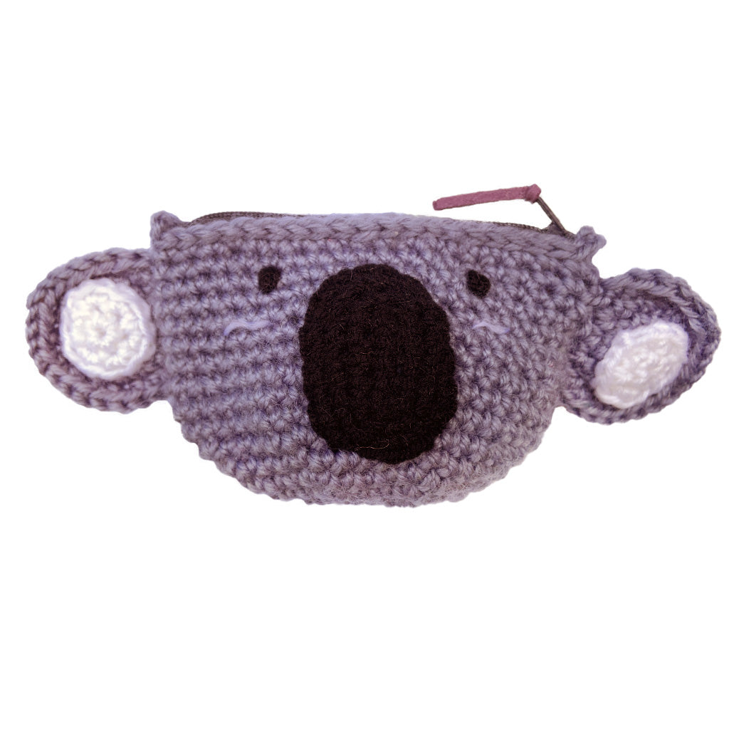 Crochet Koala Coin Purse