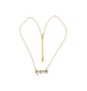 Beauty Brass Necklace