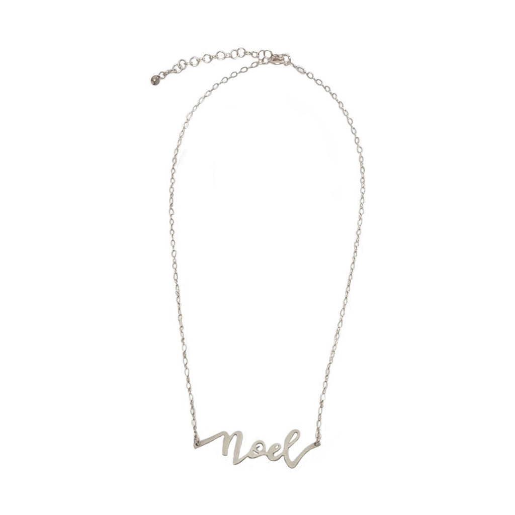 Noel Silver Necklace