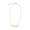 Noel Brass Necklace
