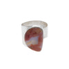 Bloodstone Silver Ring