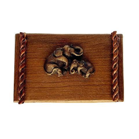 Braided Elephant Box