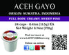 Aceh Gayo Single Serve Cup - Carton of 24
