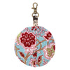Crimson Flowers Earbud Case