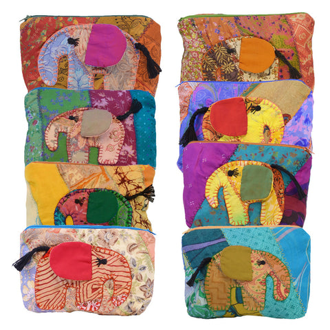 Medium Elephant Pouch - Various