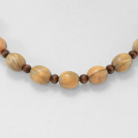 Brown Short Beaded Necklace