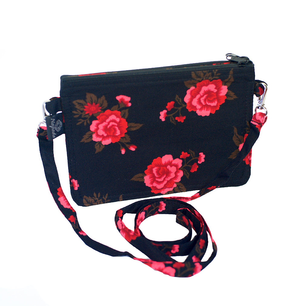 Heritage Rose Red Grab-N-Go Small Purse