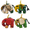 Patchwork Elephant Ornament