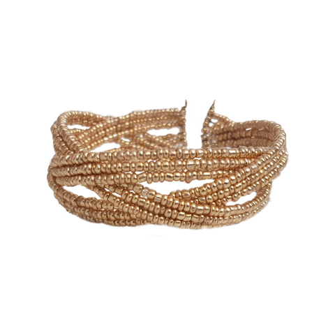 Esther's Elegance Gold Bracelet