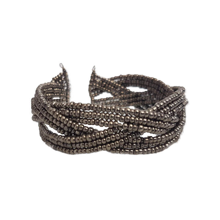 Esther's Elegance Steel Bracelet