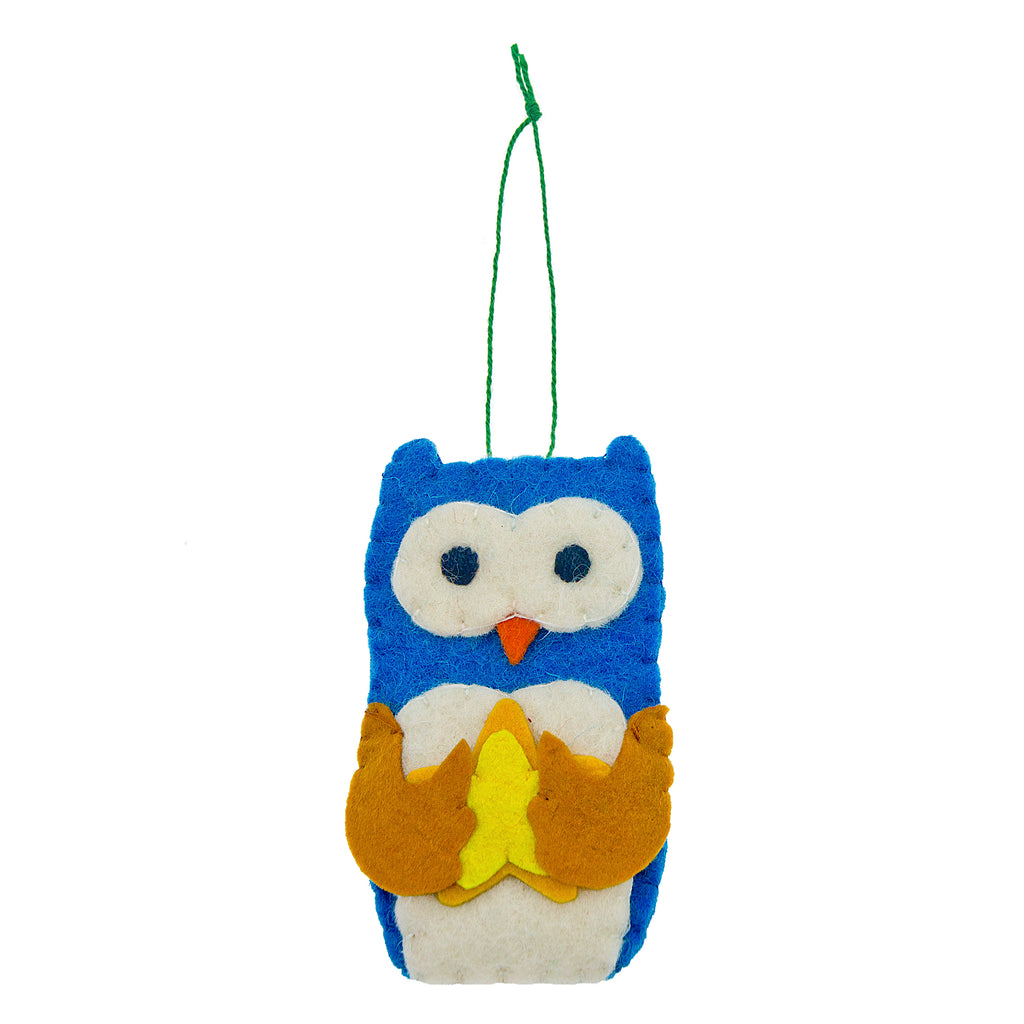 Forest Friends Owl Ornament