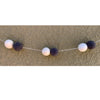 Monochrome Wool Ball Garland