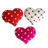 Red Polka Dot Heart Ornament