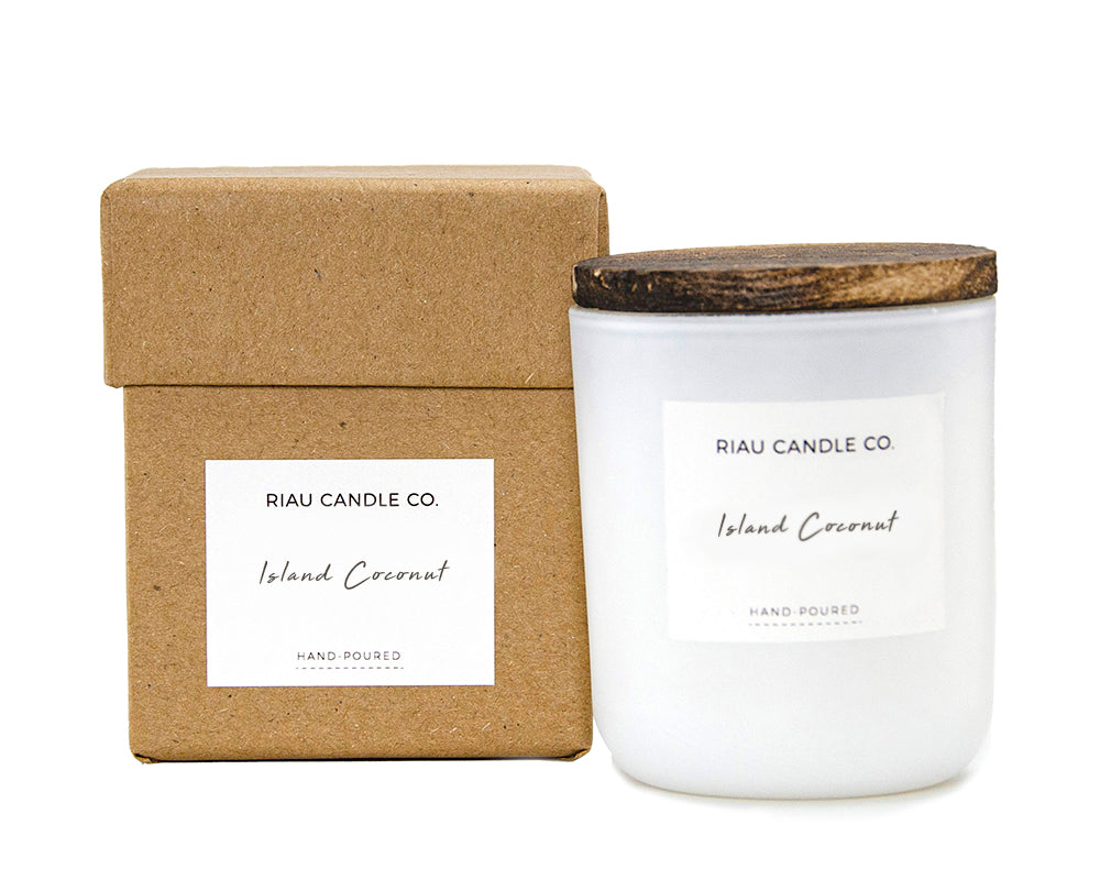 Small Riau Candle - Island Coconut