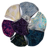 Batik Cotton Face Mask - Assorted Styles - Petite / Teen Size (M)