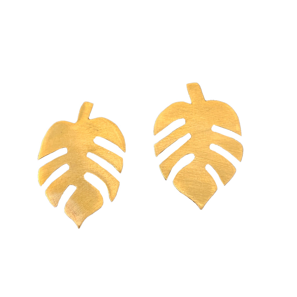 New Life Brass Earrings