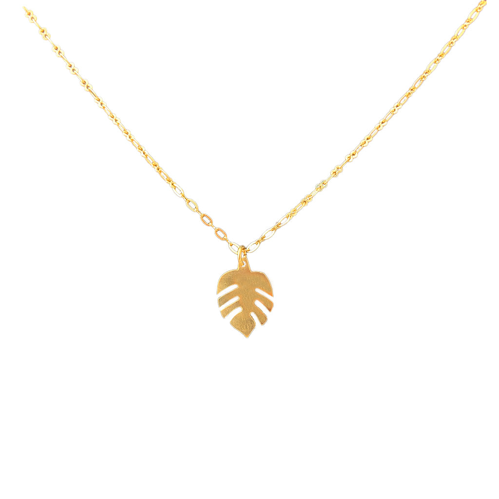 New Life Brass Necklace
