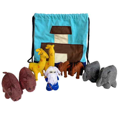 Noah's Ark Backpack with Animals