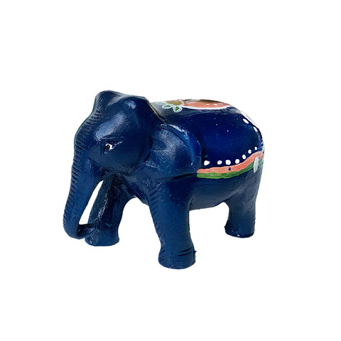 Painted Elephant Figurine - Assorted Colors