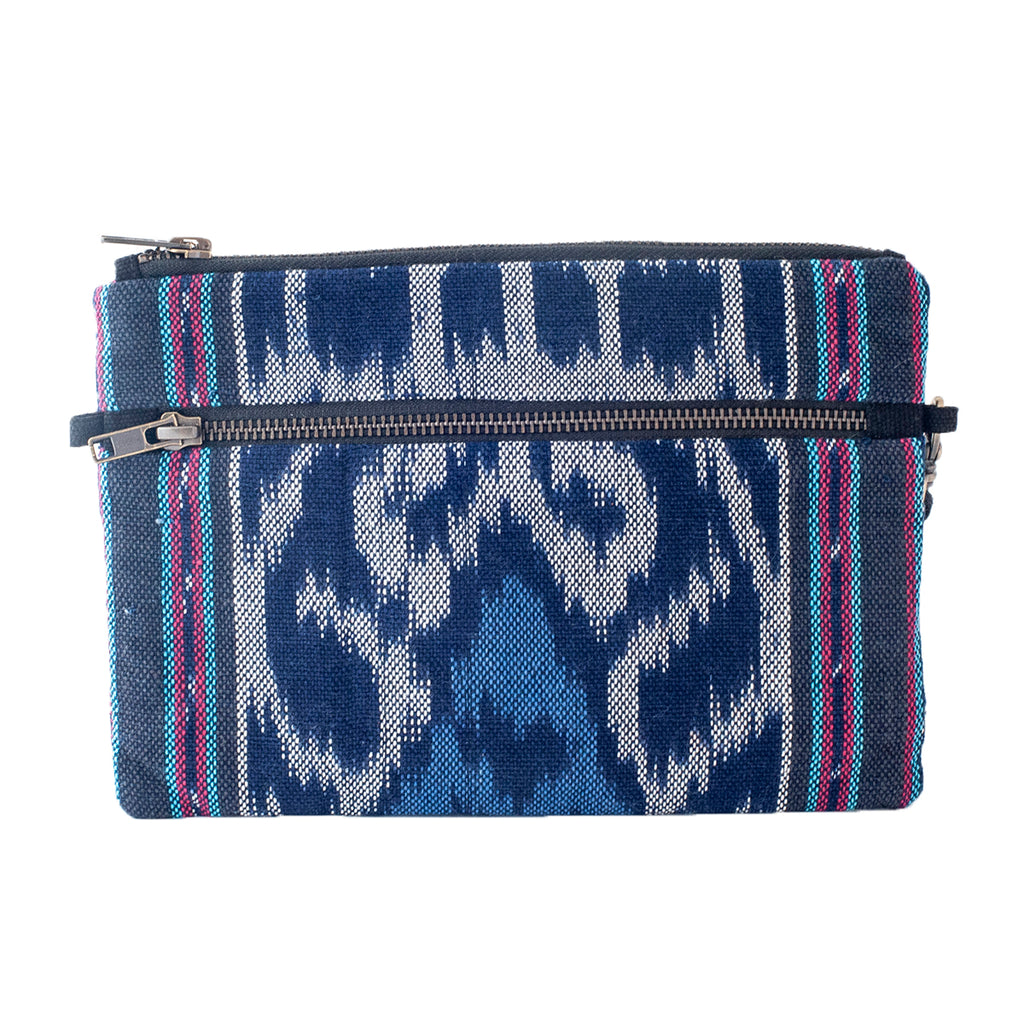 Woven Flores Island Clutch