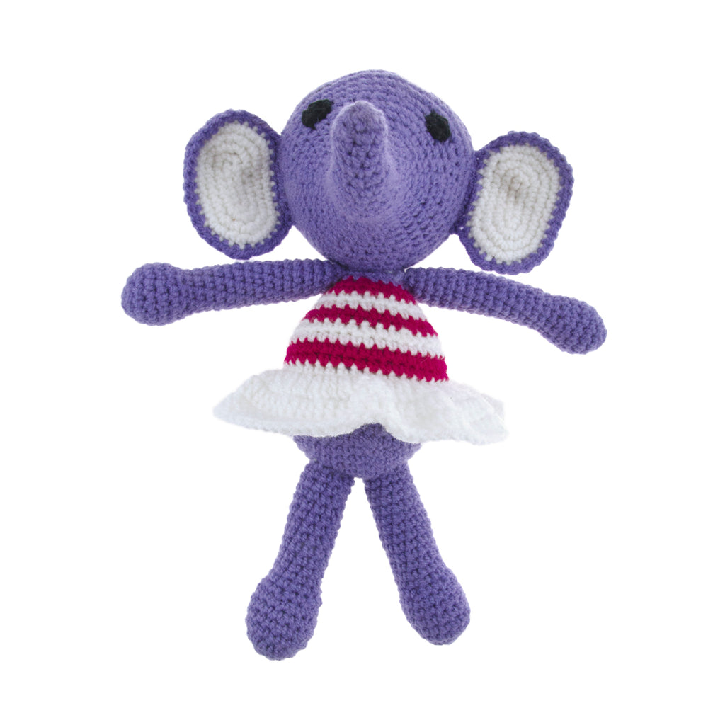 Purple Girl Elephant