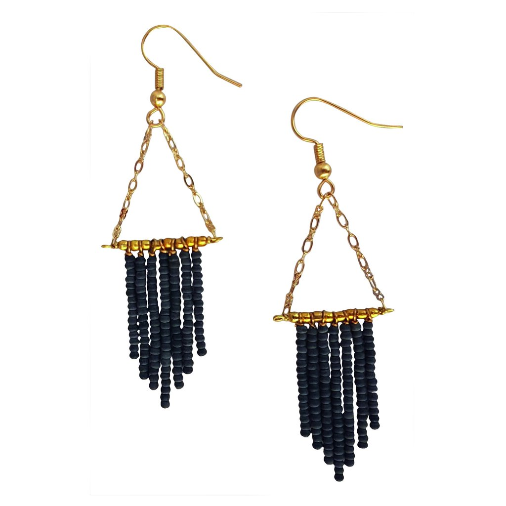 Redeeming Rains Charcoal Earrings