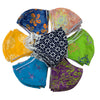 Batik Cotton Face Mask - Assorted Styles - Child Size (S)