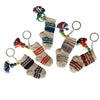 Azeri Mini Sock Keychain - Orange