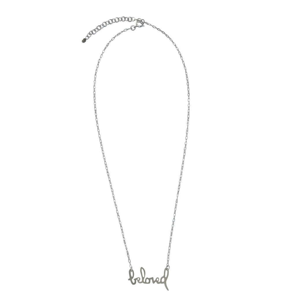 Beloved Silver Necklace