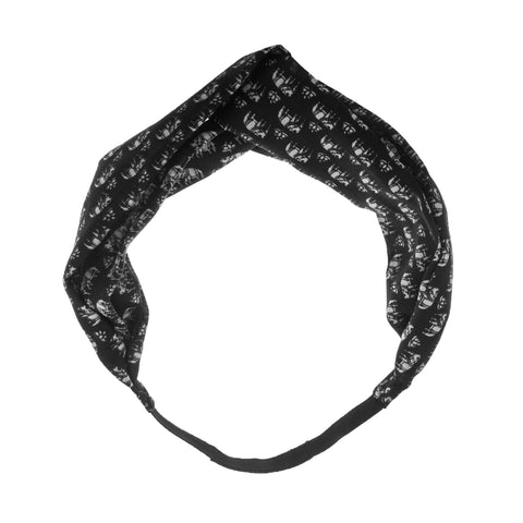 Black Silk Elephant Headband