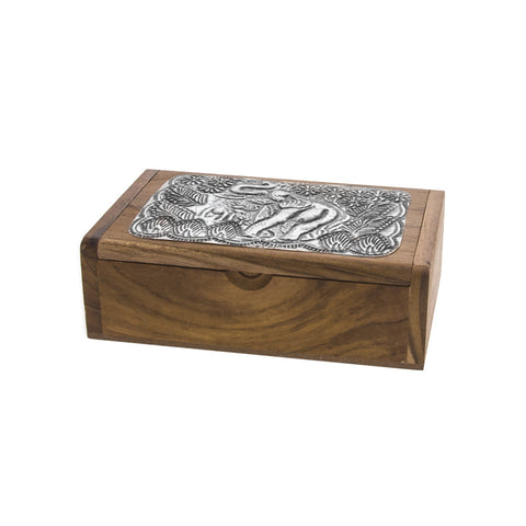 Small Elephant Box - Natural