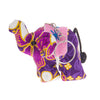 Purple Elephant Keychain
