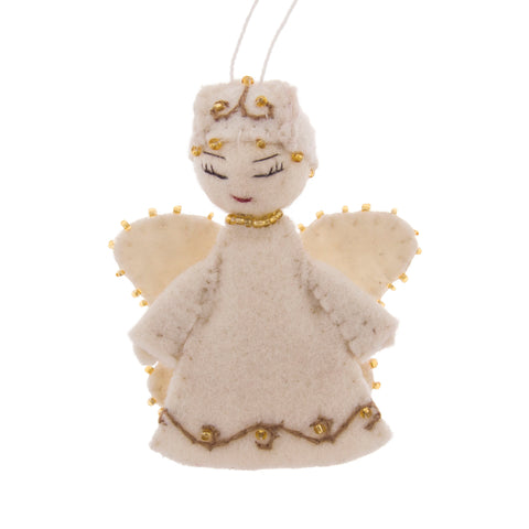 Angel Felt Ornament