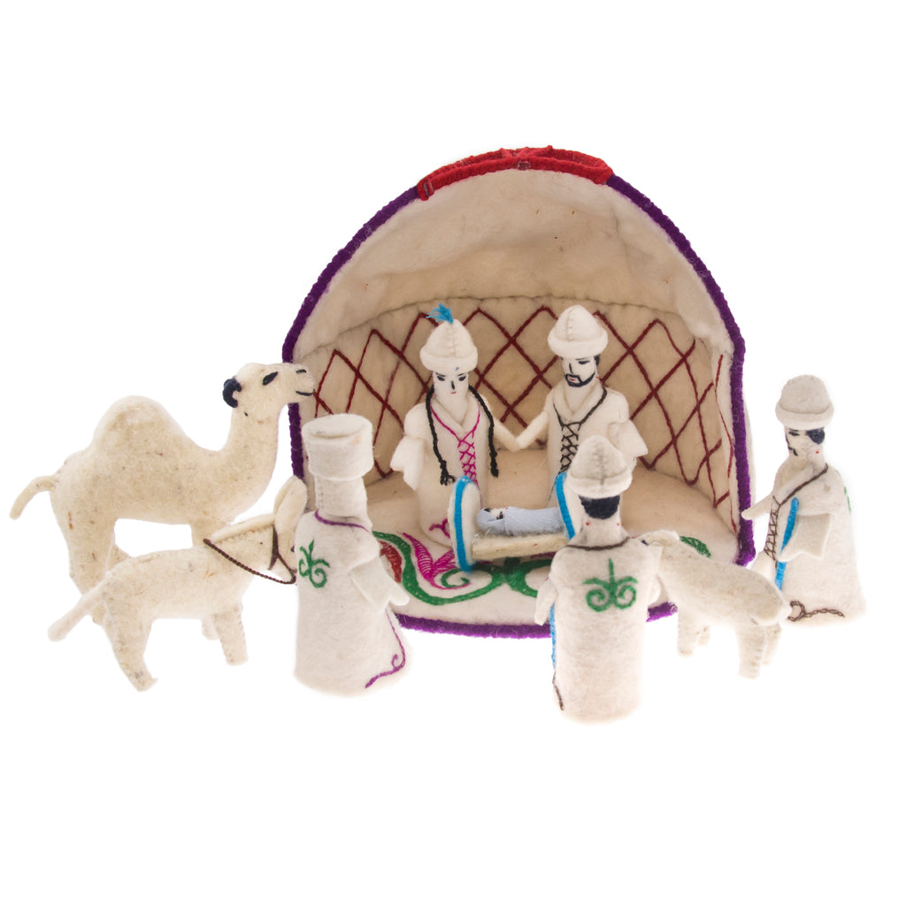 Celebrate! Nativity Set - Natural