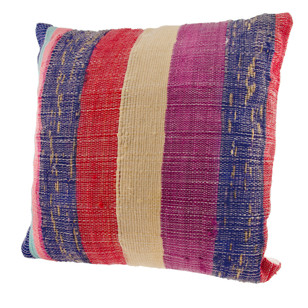 Vintage Silk Sari Pillow Cover