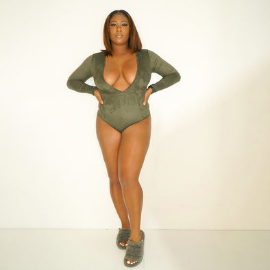 Olive One Piece - Riot Nation