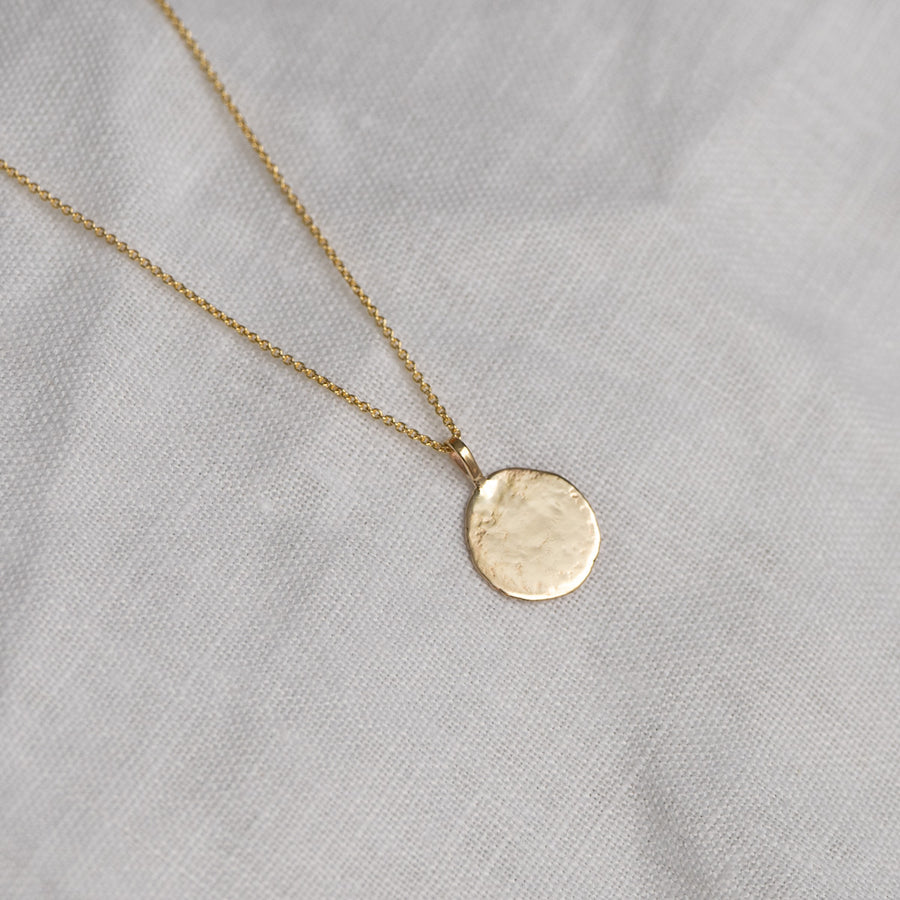 Natural Coin Necklace
