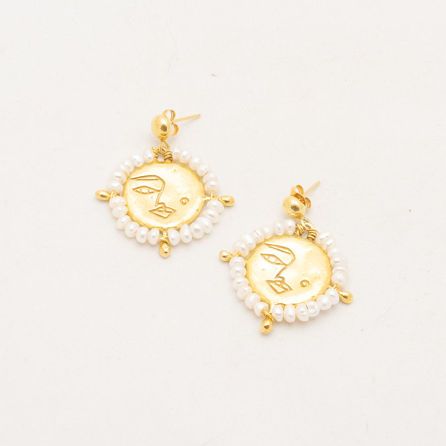 L'ange Lunaire Earrings