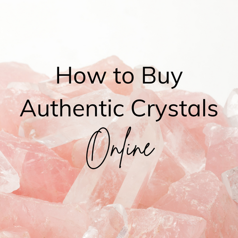 Where to buy authentic crystals online