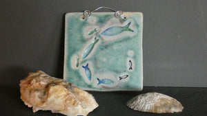 Perry Marsh Swimming Fish Tile