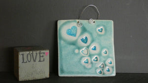 Perry Marsh Large Heart Tile