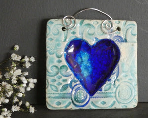 Perry Marsh Small Heart Tile