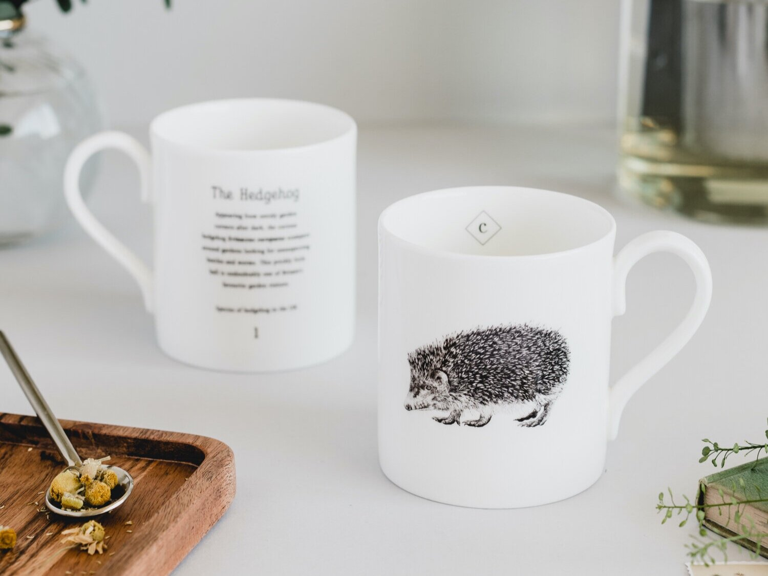 Creature Candy Hedgehog Mug