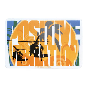 Sticker - Blackhawk Positive Vibration