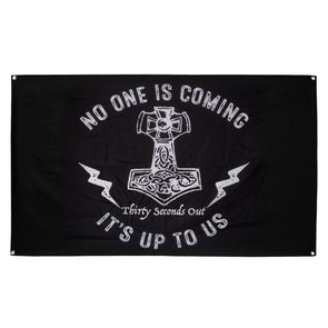 Flag - No One Is Coming, It's Up To Us: The Hammer