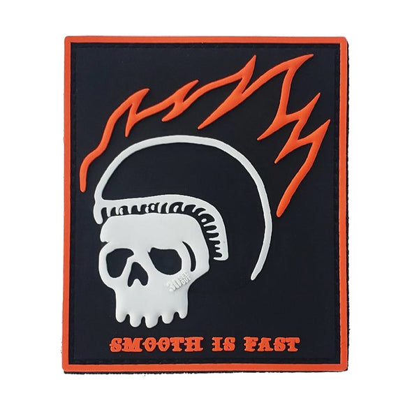 Morale Patch - Smooth is Fast (Skull)